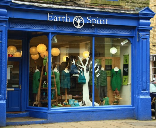 Hebden Bridge - Earth spirit shop front